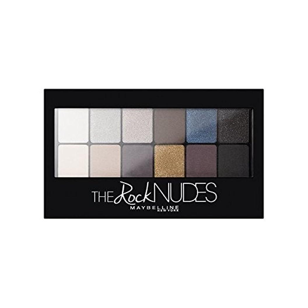 次レッドデートアナロジーMaybelline Eyeshadow Palette Rock Nudes - メイベリンアイシャドウパレット岩ヌード [並行輸入品]