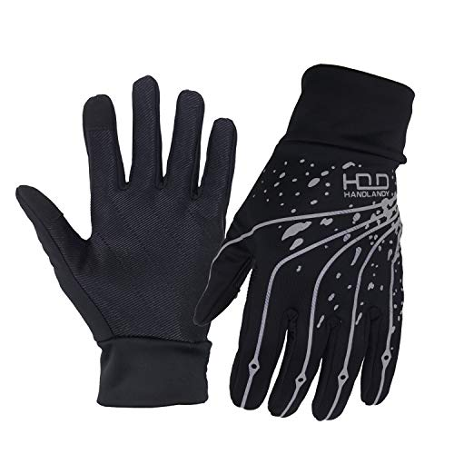 60fdf1f936489 Lightweight Thermal Running Gloves, Touchscreen Outdoor Riding Gloves for  Men Women