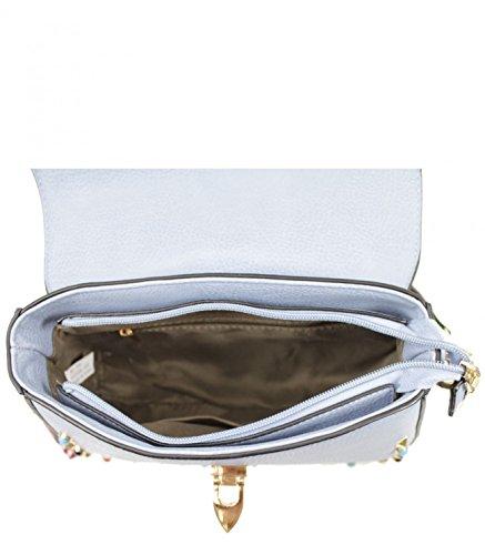 Holiday Studded Crossbody For Handbags Faux Leather Bag Women's 211 Bag Designer Studded LeahWard Bags Brown Shoulder qgR1wf4Pnx