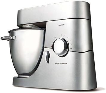 Kenwood KM020 - Robot de cocina, 1500 W, bol acero inoxidable, con asas, 6,7 litros de capacidad: Amazon.es: Hogar