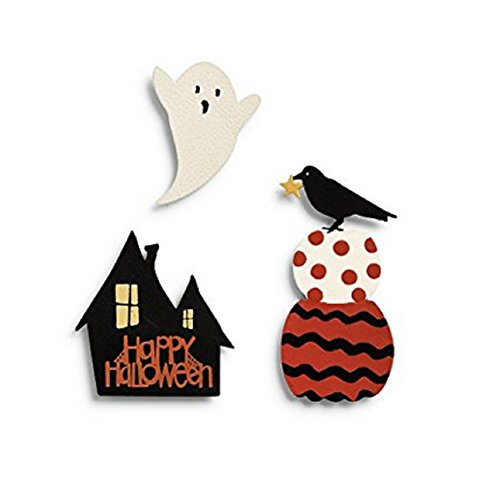 Embellish Your Story Happy Halloween Icon Magnets - Set of 3 Assorted -New (Halloween Words That Start With X)