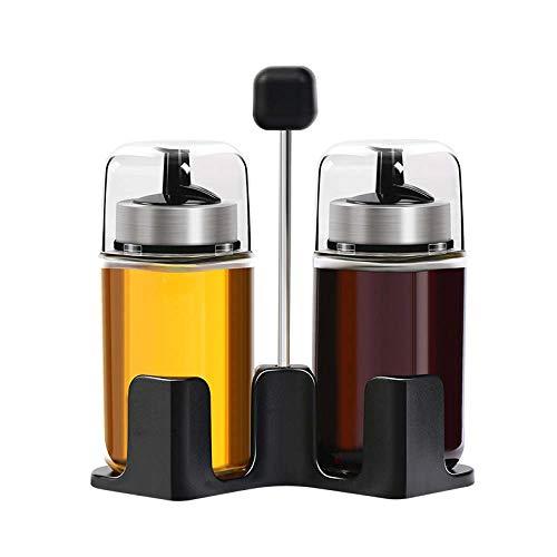Spice Jar, Kithen Opbergfles, Kruidendoos, Kruidenfles, Spice Pot, Keuken Spice Organizer A/A / 136.1x146mm TINGG (Color…