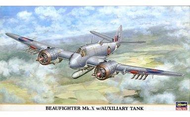 ハセガワ 1/72 イギリス空軍戦闘機 ボーファイター Mk.X w/増槽 [00128]