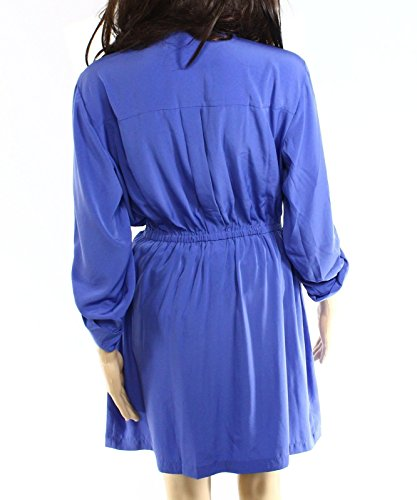 Front Blue Dress Shirt Women's Alfani Utility Zip Pery vn7xtwtCqH