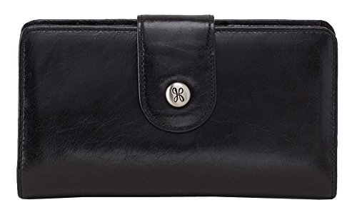 HOBO Vintage Danette Wallet, Black, One Size by HOBO