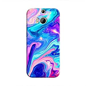 Cover It Up Psydelic Dreams Hard Case For HTC M9 Plus - Multi Color