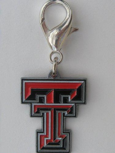 NCAA Licensed Texas Tech Raiders Collar Charm