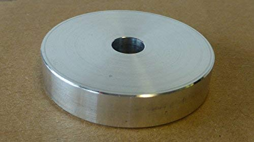 (Technics SL 1200, 45 RPM Record Turntable Adapter for 7
