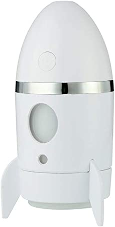 Fresco niebla cohete forma humidificador USB mini difusor de aire ...