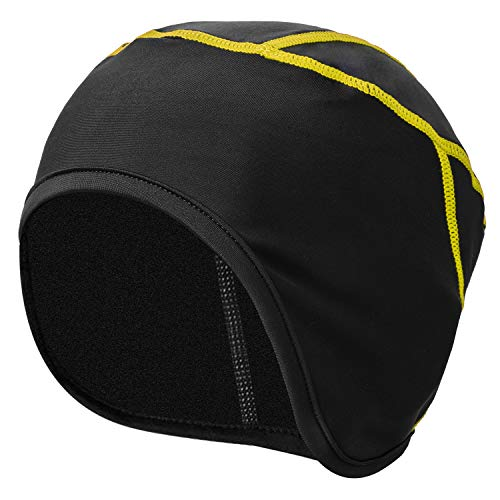 p, Winter Fleece Bicycle Helmet Liner/Running Beanie - Ultimate Performance Moisture Wicking for Youth Adult MTB Road Cycling Skiing ()