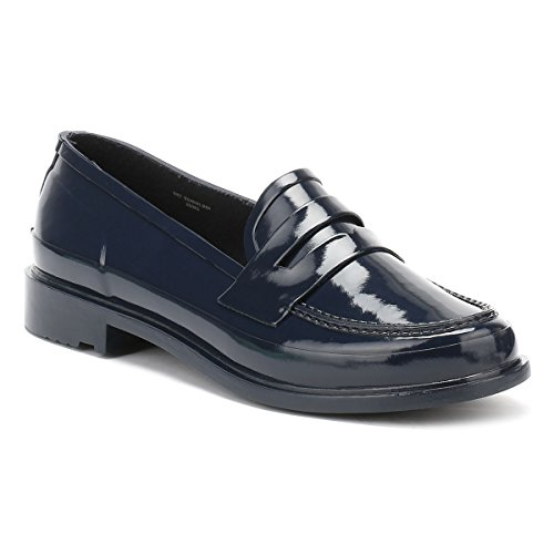 Hunter Original Penny Loafers Marinen Kvinnor Skor