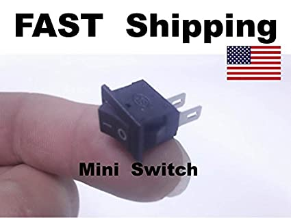 amazon com 1x mini small switch miniature spst 2 wire hookup