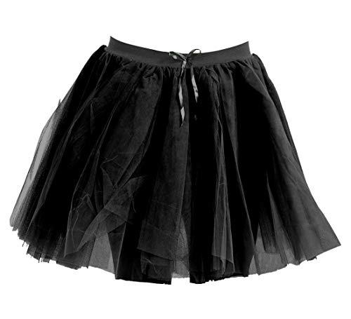 Janisramone - Jupe - Femme Noir * Taille Unique Noir