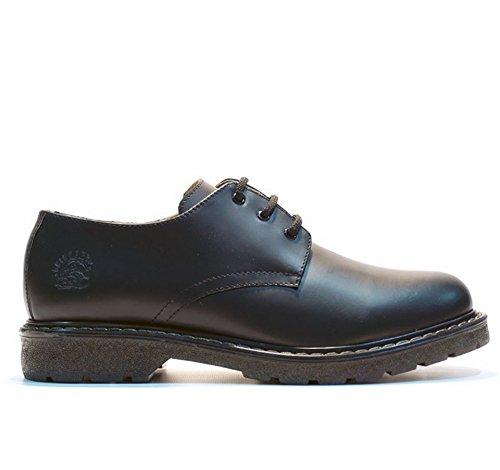 Amoladoras Percival Negro 3 Ojal inteligente con cordones de los zapatos planos