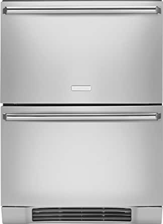 Electrolux EI24RD65KSIQ-Touch 4.74 Cu. Ft. Stainless Steel Built-In Undercounter Drawer Refrigerator - Energy Star