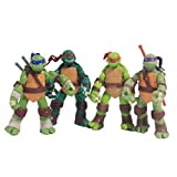 2013 Tmnt Teenage Mutant Ninja Turtles Can Be Moving Pvc Toy Doll Model 3.3Inch Set Of 4