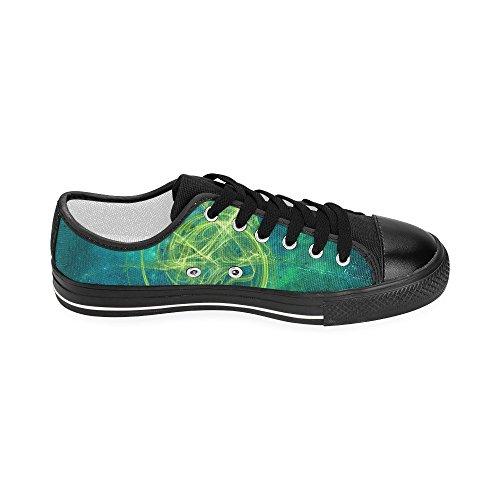 Zapatos De Lona De Encargo Verdes De Artsdd Essence Para Mujeres Model018 (nueva Llegada 2015)