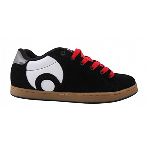 Osiris Skateboard Shoes Troma Icon Kids Black/Red/White, Schuhgrösse:33