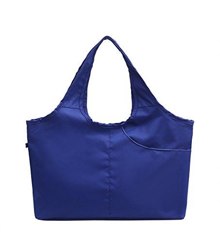 Bolsa Meoaeo Blue Bolso Violeta Nueva Señoras De Bolso Lona 48 fTBqvT