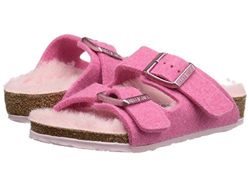 Birkenstock Girls Arizona Footbed Sandal (Toddler/Little Kid), Lamb Pink, 32 EU(1 M US Little Kid)