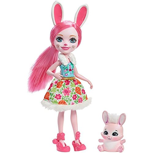 Enchantimals Muñeca Brie Bunny Mattel DVH