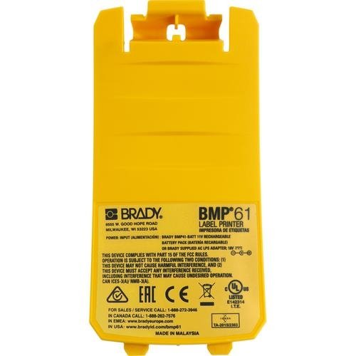 Brady 148669, Replacement WiFi Battery Cover for BMP61 Label