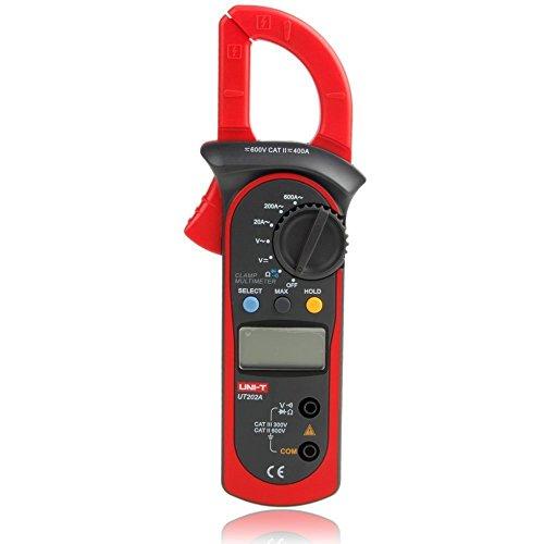 Price comparison product image Uni-Trend UT202A Auto-ranging AC 600 Amp Clamp Meter