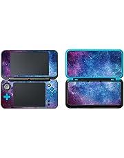 UUShop® Vinyl Cover Decals Skin Sticker for New 2DS XL/LL - Purple Nebular