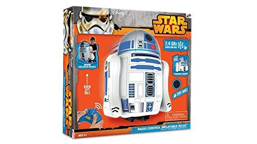 Star Wars Bladez Droide R2-D2 Hinchable RC con Sonido: Amazon.es: Juguetes y juegos