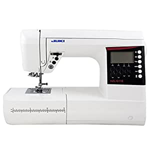 Juki HZL-G110 Computerized Sewing and Quilting Machine, 180 Stitches with 1-Font