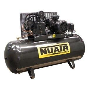 Compresor de aire Tête hierro fundido 270 litros Motor triphasã de 5, 5 CV NuAir
