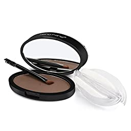 Binmer(TM) Natural Eyebrow Powder Makeup Brow Stamp Palette Delicated Shadow Definition (B)