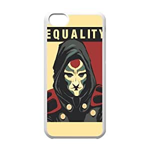 Equality Vector iPhone 5c Cell Phone Case White 218y-726736