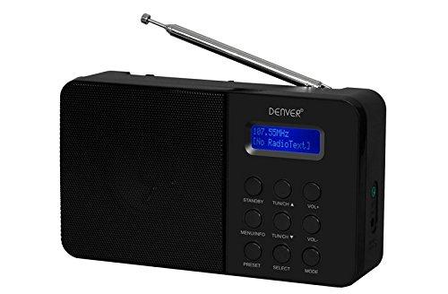 1 opinioni per Denver DAB-33 DAB-Radio (FM RDS, intelligente-Design Stationstasten) Nero