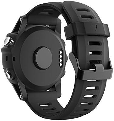 armin Fenix 3/Fenix 5 x reloj banda, Yayuu suave silicona reloj ...