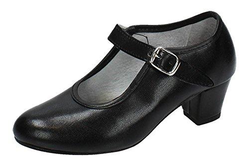 CREACIONES PASOS DE BAILE S.L. - Zapato - Carleti 15 Flamenca Negro, Talla: 32