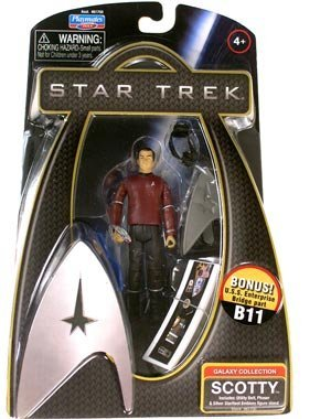 Star Trek 2009 The Movie 3-Inch Scotty Action Figure