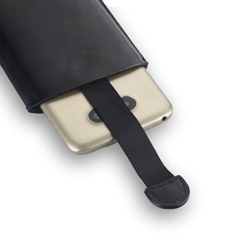 """Premium Easy-Out Handytasche schwarz geeignet für """"Apple Iphone 6s"""" Handy Schutz Hülle Slim Case Cover Etui"""
