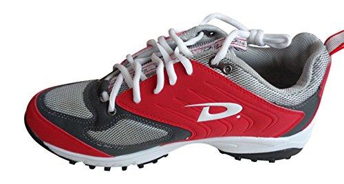Homme Dita Eliminator Rouge d'entraînement Chaussures de course Taille 11