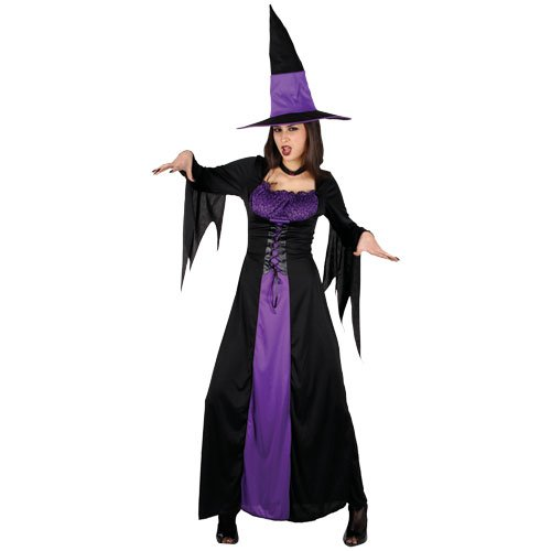 Witches Of Eastwick Halloween Costumes (Adults Ladies Spellbound Witch Costume for Halloween oz Eastwick Cosplay US Size)