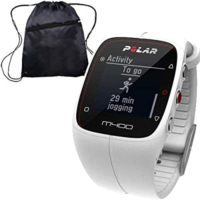 Polar 90051342 - M400 GPS Training Companion Without Heart Rate with Bag - White
