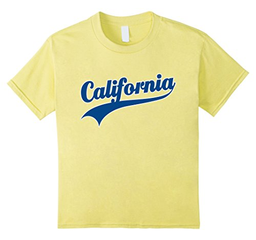 California Republic Tshirt Cali Life Love LA 10 Lemon (California Yellow T-shirt)