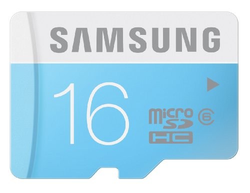 Samsung 16GB Class 6 Micro SDHC up to 24MB/s with Adapter (MB-MS16DA/AM)