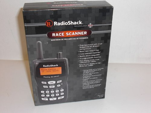 RadioShack Pro-444 Race Scanner Radio Shack 20-444