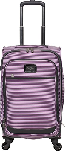Jessica Simpson Breton Expandable Spinner, 21'', Purple by Jessica Simpson