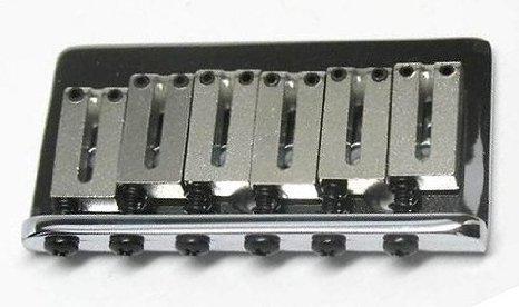 【 並行輸入品 】 Fender (フェンダー) 003-2909-000 USA American スタンダード Chrome Hardtail Bridge for エレキギター   B00JEFGBN2