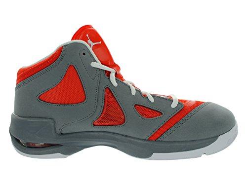 Nike Hombres Nike Jordan Juega En Estos Ii Basketball Zapatos 10 (equipo Naranja / Blanco / Fresco Gris)
