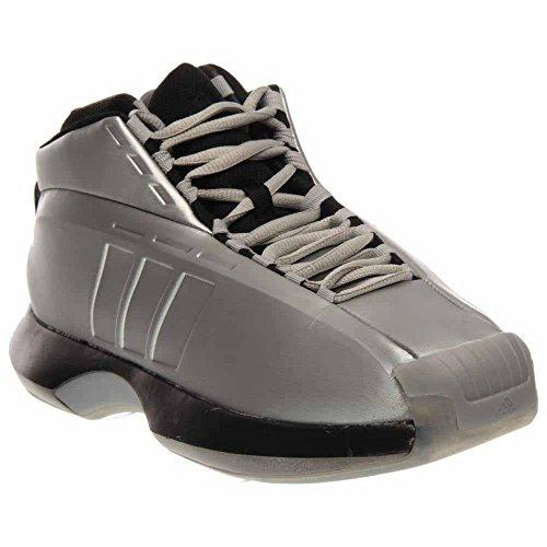 wholesale dealer 026ef c6766 Galleon - Adidas Performance Mens Crazy 1 Basketball Shoe, SilverBlackClear  Onix, 8 M US