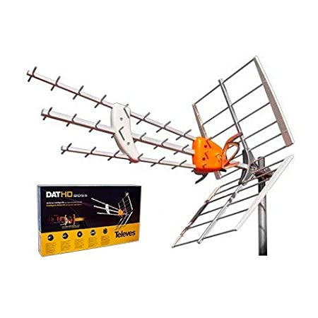 KIT ANTENA TELEVES HD 149902 +20MT CABLE+FUENTE TELEVES 5795 +CONECTORES DE ANTENA TIPO F Y CEI: Amazon.es: Electrónica