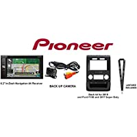"""Pioneer AVIC-5201NEX In-Dash Navigation AV Receiver w/6.2"""" WVGA Touchscreen w/Back Up camera & iDatalink KIT-FTR1 Dash kit for 2015 & Ford F150 and 2017 Super Duty & SOTS Lanyard"""
